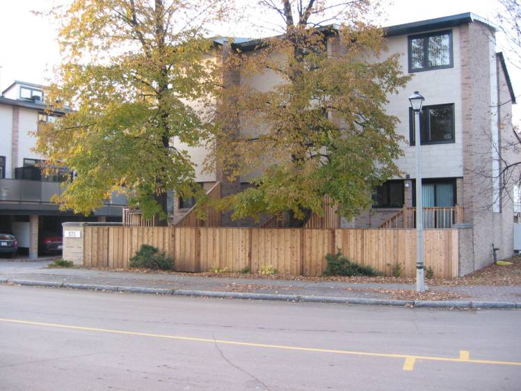 Cobourg Court on Halloween Day, 2008